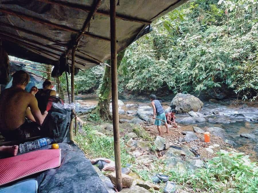 Jungle trekking bukit lawang