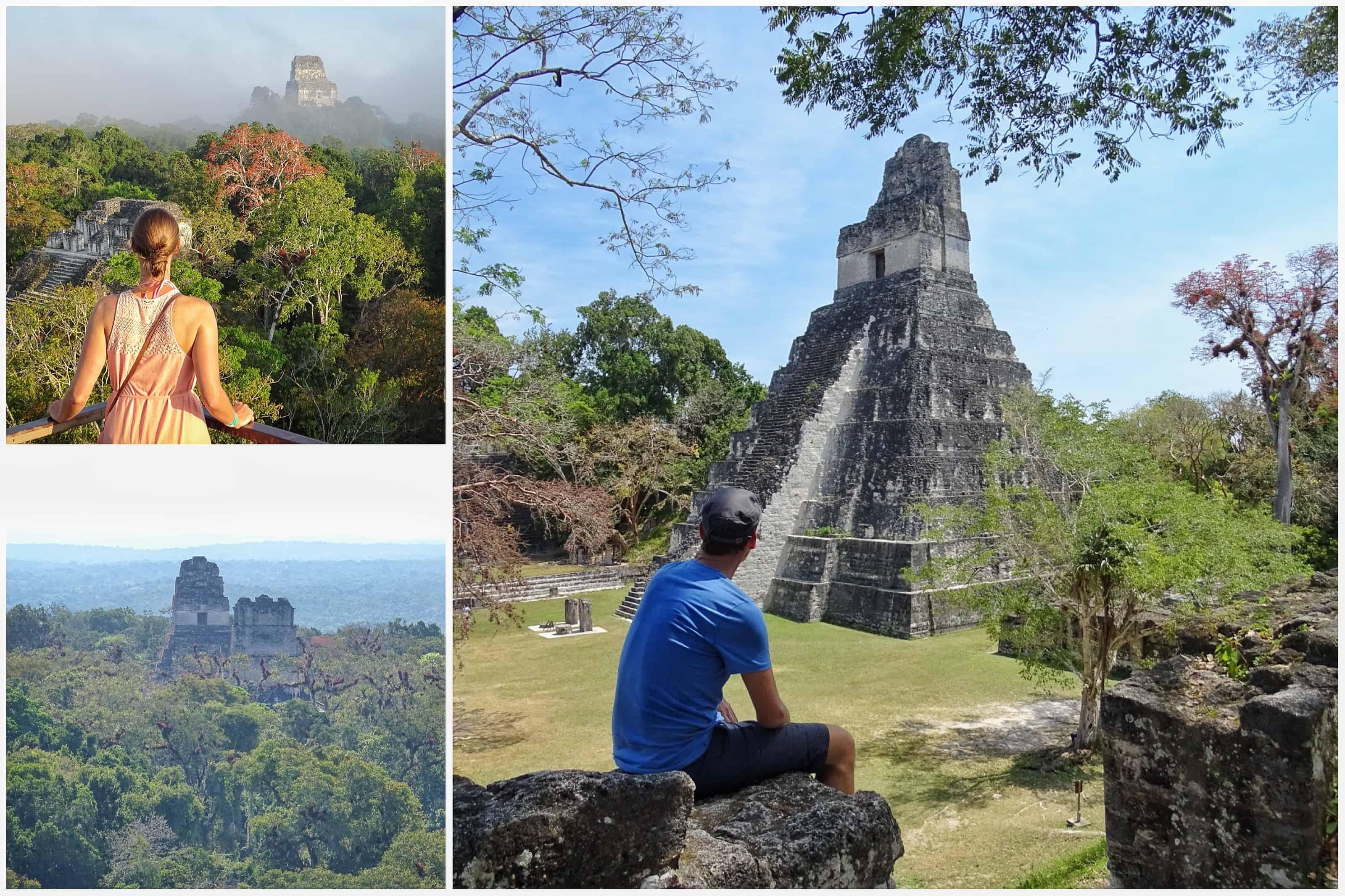 Tikal vanuit Belize