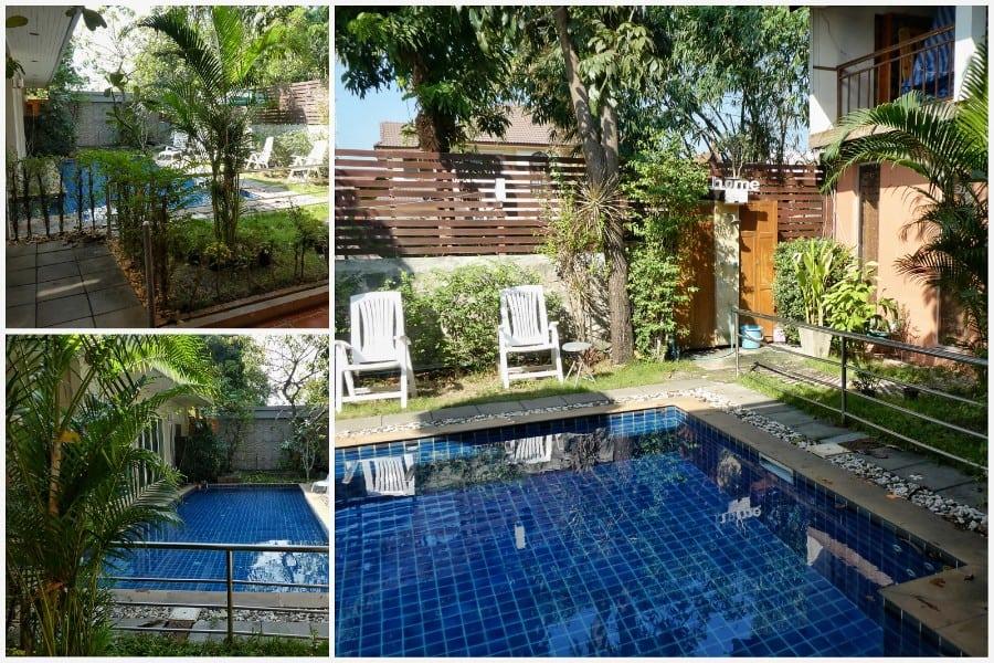 Hotel ayutthaya zwembad