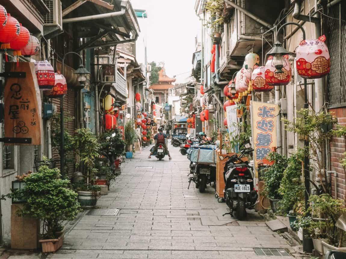 backpacken in Taiwan