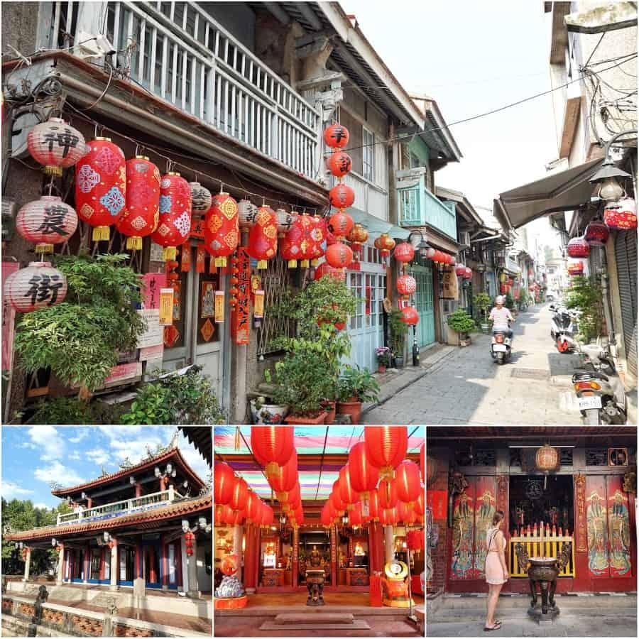 Taiwan reisroute