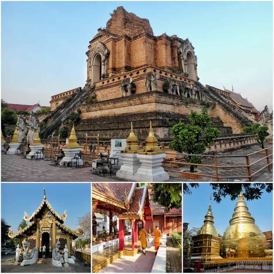 chiang mai tempels
