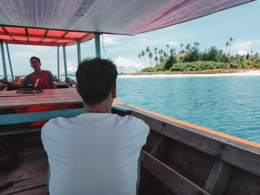 eilandhoppen Banyak eilanden
