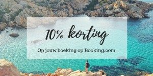 10% korting booking