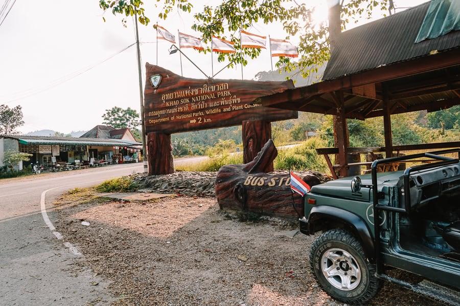 Bus Khao Sok National Park
