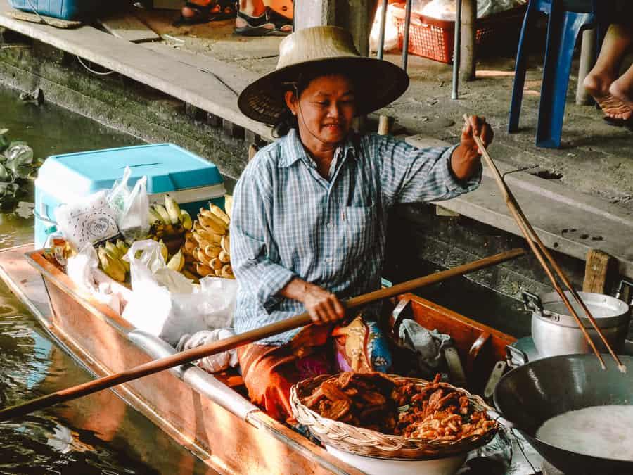 drijvende markt bangkok