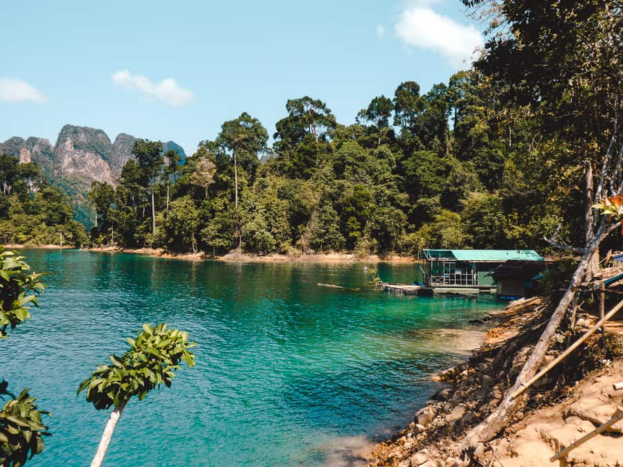 khao sok national park overnachten