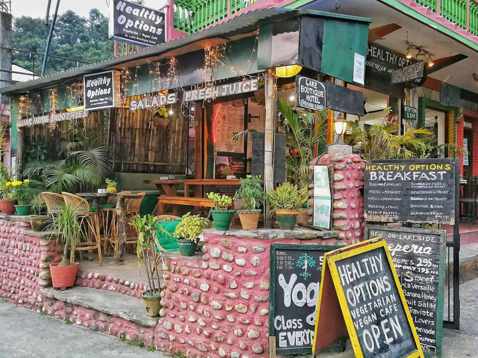 leukste hotels Pokhara Nepal