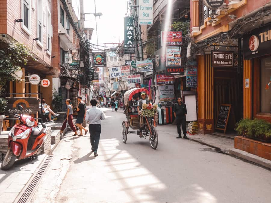 fietstaxi kathmandu