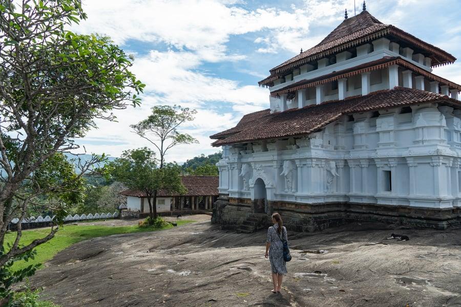 Tempels buiten kandy
