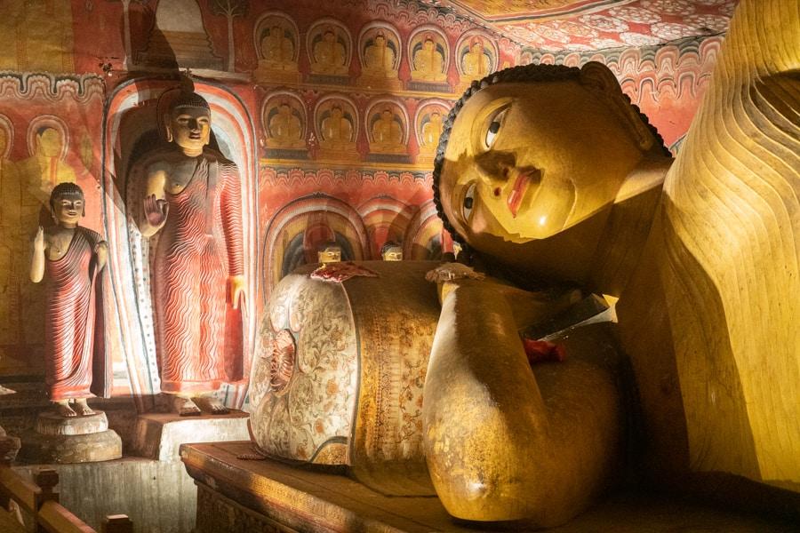 rots tempel Dambulla