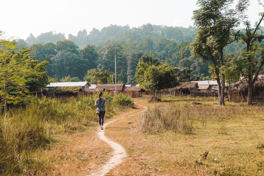 madi chitwan national park
