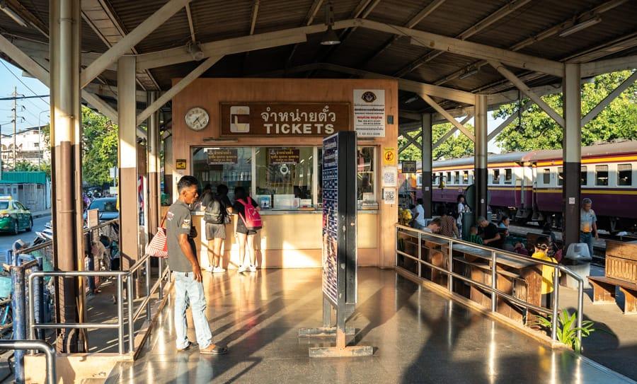 thonburi treinstation