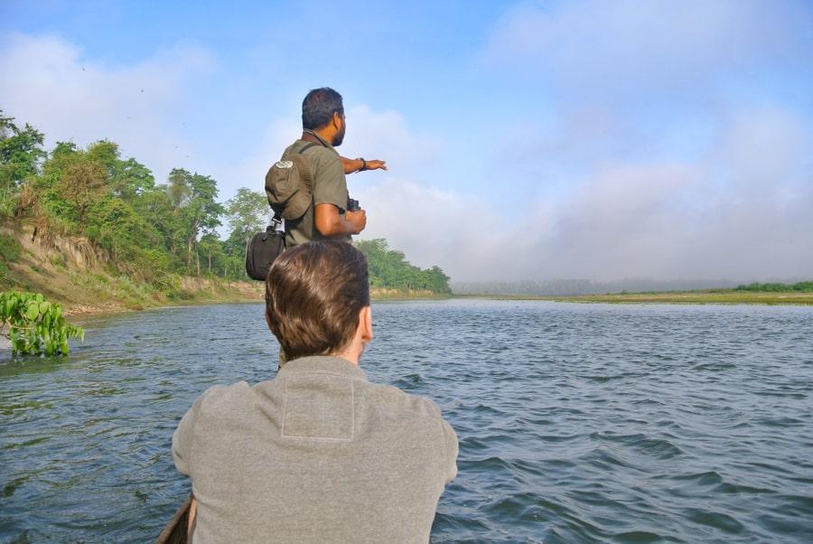 boottocht chitwan national park