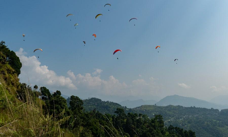 paragliden Pokhara