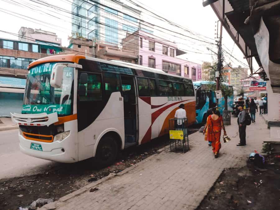 vervoer kathmandu pokhara