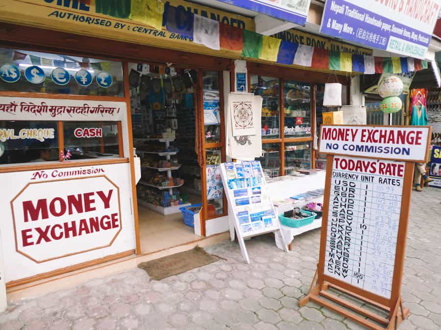 geldzaken Pokhara Nepal