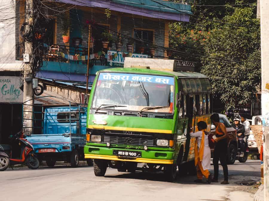 Vervoer pokhara nepal
