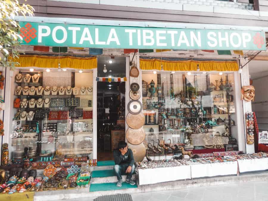 winkelen in Pokhara