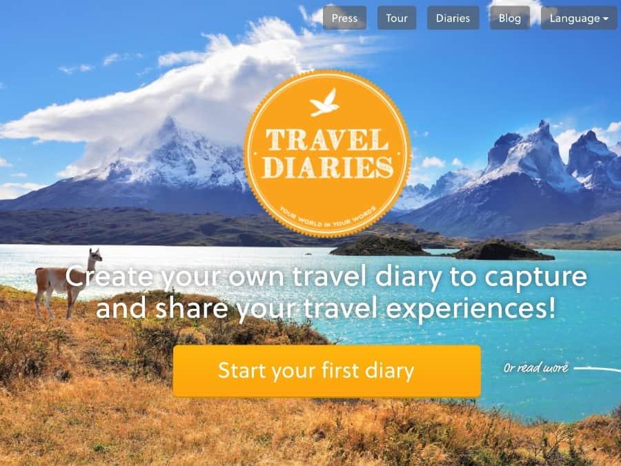 reisBlog starten