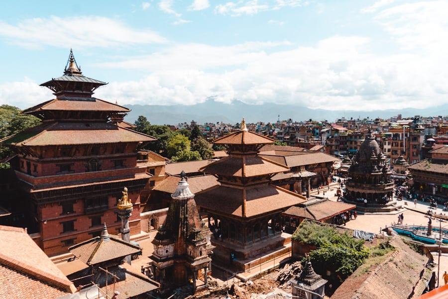 Reisroute Nepal