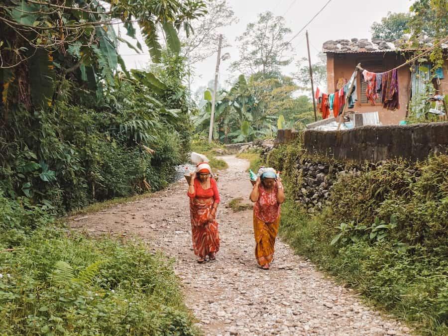 wandeling world peace pagoda