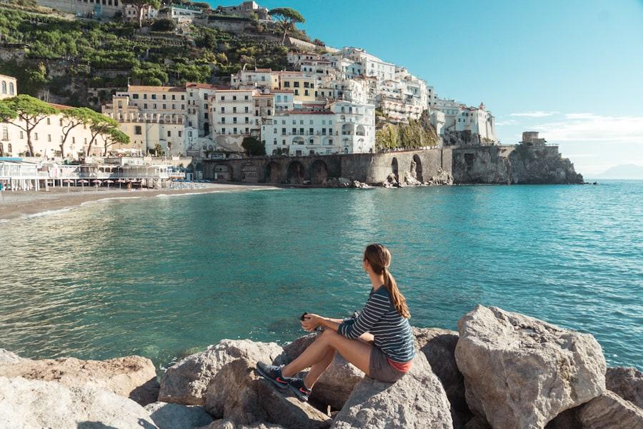 amalfikust italie