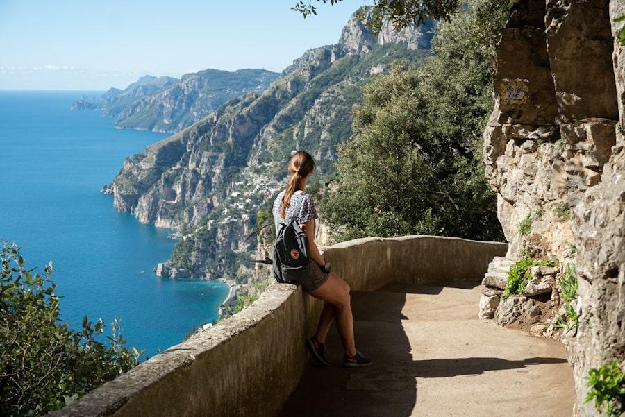 hiken amalfi kust italie