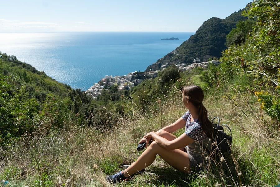 wandelen amalfikust italie