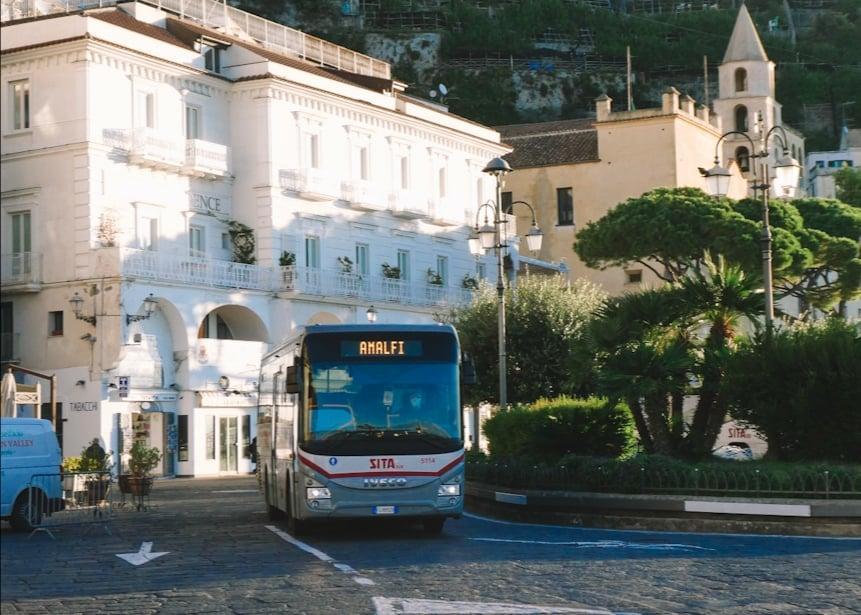 openbaar vervoer amalfi kust