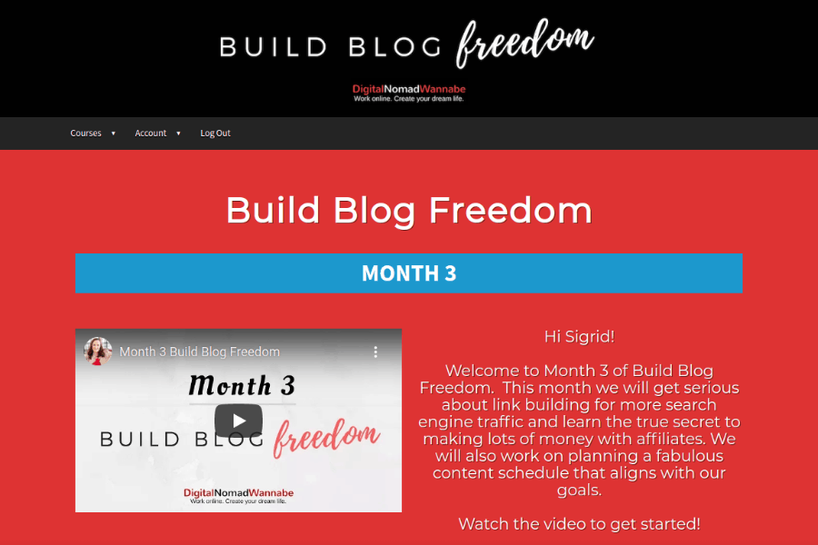 build blog freedom