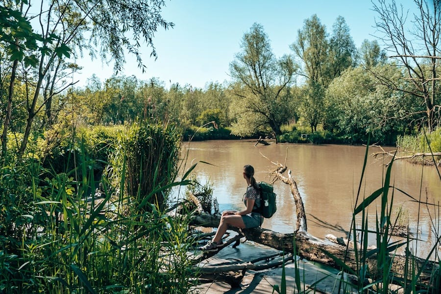 avontuur dichtbij trektocht biesbosch